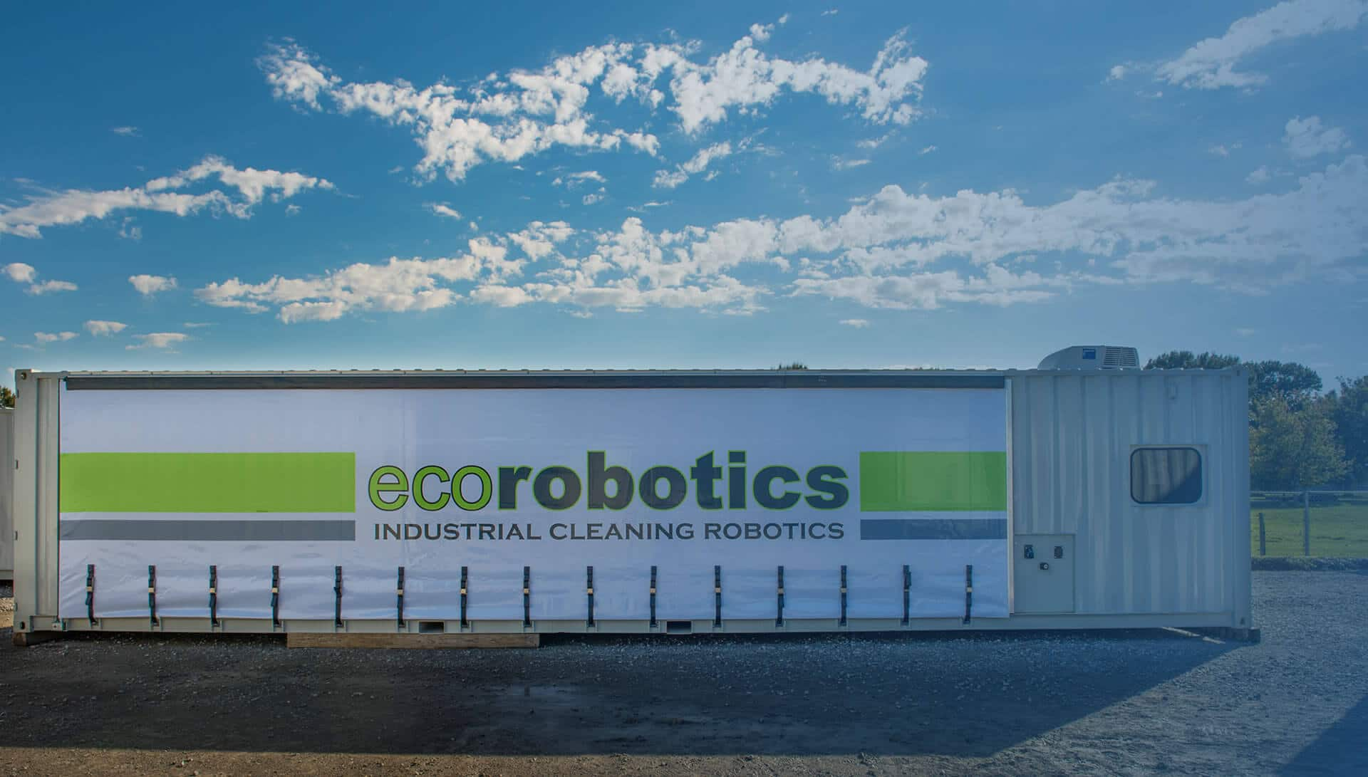 Ecorobotics: Industrial Cleaning Services Container Building